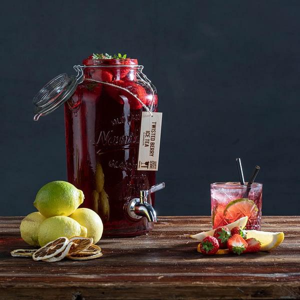 twisted berry ice tea